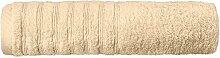 Flauschiges Sauna-Handtuch | 16 moderne Farben und viele Größen | 100% gekämmte Baumwolle Frottee Qualität ca. 570g/m² | Strandlaken 80 x 200 cm | Serie Pisa | CelinaTex 0002837 | beige