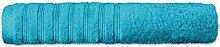 Flauschiges Sauna-Handtuch | 16 moderne Farben und viele Größen | 100% gekämmte Baumwolle Frottee Qualität ca. 570g/m² | Strandlaken 80 x 200 cm | Serie Pisa | CelinaTex 0002889 | türkis