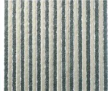 Flauschvorhang 56x200 Türvorhang Vorhang Insektenschutz Hitzeschutz silber weiss