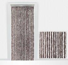 Flauschvorhang Türvorhang Insektenschutzvorhang