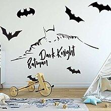 Fledermaus Wandaufkleber Kinderhaus Dekoration