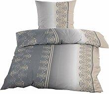 Fleece Bettwäsche mit Reißverschluss aus 100%