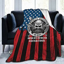 Fleece Blanket USMC Force Recon Hotel Warm Fleece
