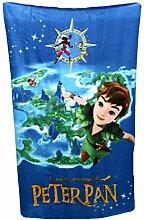 Fleece-Decke für Kinder mit Peter-Pan-Motive, 150x 100cm (evtl. nicht in deutscher Sprache)
