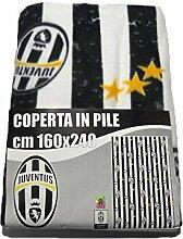 Fleecedecke für den Winter, Motiv: Juve Juventus,