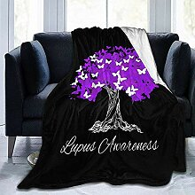 Fleecedecke Lupus Awareness T-Shirt Warrior Tree