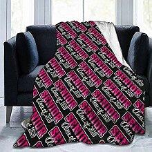 Fleecedecke Seniorenklasse 2020 Pink Girl Hotel