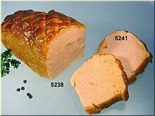 Fleischkäse mit 2 Scheiben Lebensmittelattrappe - Leberkäse Replikat, Bayerische Dekoattrappe