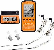 Fleischthermometer Funk Bratenthermometer Digital