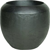 fleur ami Übertopf Loft - Black Iron - H: 40cm D: