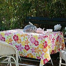 Fleur De Soleil n240cleu Tischdecke QUADRATISCH