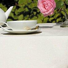 Fleur De Soleil n240cleu Tischdecke QUADRATISCH Beschichtete Baumwolle 160x 200cm, Stoff, gold, 240x160x0.2 cm