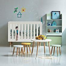 Flexa Babybett PLAY (60x120) höhenverstellbar, in