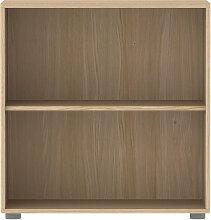Flexa breites Regal ´´Popsicle´´ aus Holz mit 2 Fächern (TÜV geprüft) in natur