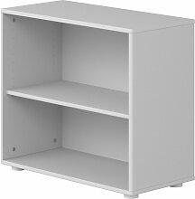 Flexa Cabby Bücherregal mit 1 Boden in weiß