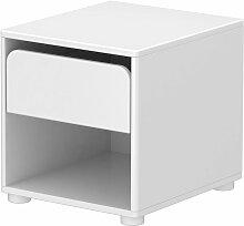 Flexa Cabby Kommode mit einer Schublade in weiß