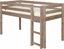 Flexa Classic Halbhohes Bett aus Holz (90x200cm)