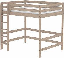 Flexa Classic Hochbett aus Holz (140x200cm) mit