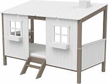 Flexa Classic Kinderbett aus Holz (90x200cm) mit