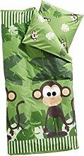 FLEXA Dschungel Bettwäsche für Kinderbett Decke