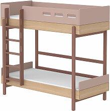 Flexa Etagenbett ´´Popsicle´´ aus Holz (90x200