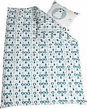 Flexa Kinder-Bettwäsche aus Baumwollsatin