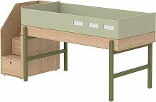 Flexa Mittelhohes Bett ´´Popsicle´´ aus Holz