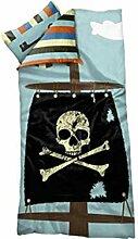 FLEXA Pirate Bettwäsche für Kinderbett Pirat