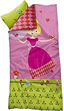 FLEXA Prinzessin Bettwäsche für Kinderbett Decke