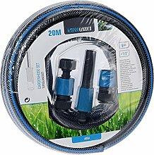 FlexiComfort Gartenschlauch Set 20m mit Düse und