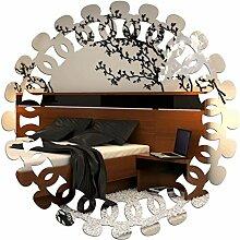 FLEXISTYLE Dekorativer Spiegel Flower 1, Modernes