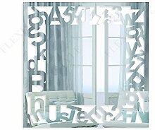 FLEXISTYLE Dekorativer Spiegel Letters, Modernes