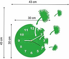 FLEXISTYLE Wanduhr, grün, Stück: 1