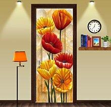 FLFK 3D-Tür-Wandbild – abnehmbare