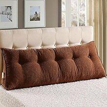 FLHSLY Bett Große Rückenlehne Bedside