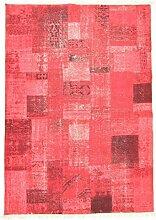 Flickenteppich - Marmaris (rot) Größe 140 x 200 cm