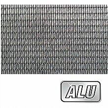 Fliegengitter Fenstergitter Aluminium natur Rolle 140 x 150 cm