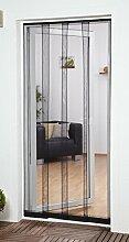 Fliegengitter Insektenschutz Lamellenvorhang Filatec Gewebe 4-tlg. 100 x 220 cm in weiss