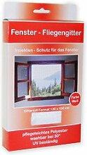 Fliegengitter Insektenschutz Mückengitter Insektennetz für Fenster Weiss 130x150cm