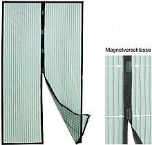 Fliegengitter, Insektenschutzvorhang mit Magnetverschluss