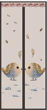Fliegengitter Magnetvorhang für Türen