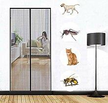 Fliegengitter tür, 190x210cm, Insektenschutz Tür
