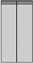 Fliegengitter Tür, Chenci Moskitonetz Fliegenvorhang 210*90 CM Insektenschutz verlängerte Magnet verschlüsselte Gaze Vorhang für die Balkontür, Kellertür, Terrassentür, Wohnzimmer