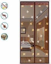 Fliegengitter Tür, Insektenschutz Magnet Vorhang