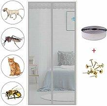 Fliegengitter Tür Magnetisch, Fliegennetz,