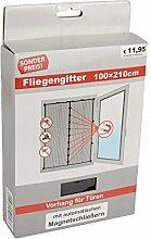 Fliegenvorhang Magnet für Türen 100x210cm