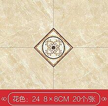 Fliese, Bodenfliese, Diagonale Boden, wasserdicht