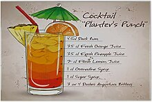 Fliese Kachel Alkohol Cocktail Planter's Punch
