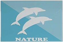 Fliese Kachel Fun Delfine Keramik bedruckt 20x30 cm