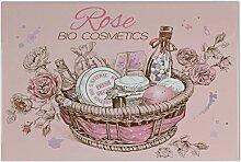 Fliese Kachel Fun Küche Rose Bio Kosmetik Keramik